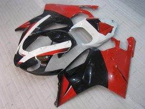 Plastik Fairings RSV 1000 2004 ABS Fairing RSV1000 03 04 Aprilia RSV1000 için Siyah Kırmızı Fairing Kitleri 05 06 2003 - 2006