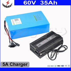 Big Capacity 35Ah Electric Bicycle Battery 60V 2400W With 5A Charger Rechargeable Battery 60V Built-in 50A BMS Free Shipping