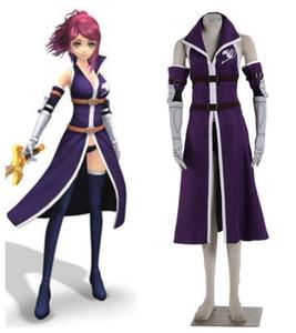 Disfraz de Fairy Tail Erza Scarlet Outfit Cosplay