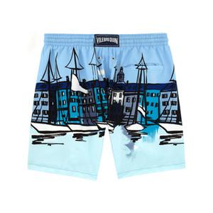 Mare Colazione Beach Shorts superiore CALDO Quick Dry shorts degli uomini di estate di marca Abbigliamento casual geometrica Shorts