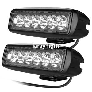 18W 스포트 빔 LED 작업 빛 ATV Off Road Light Lamp 오프로드 라이트 SUV 자동차 트럭 트레일러 트랙터 UTV 차량 용 라이트 바