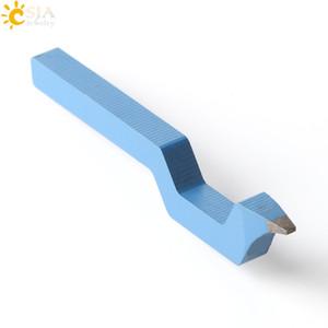 CSJA 싼 소매 도매 블루 45 철강 925 쥬얼리 스탬프 펀치 마킹 도구 여성 남성 스털링 실버 반지 팔찌 DIY E319