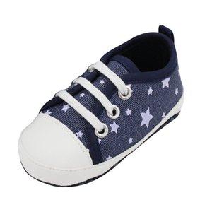 Venta al por mayor-Newborn Kids Infant Toddler Baby Boy Girl Soft Soled Zapatos de cuna zapatilla de deporte lindo L07