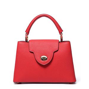 Женщины сумки высокое качество капуцины мм BB подлинная Taurillon кожаные сумки большой тотализатор сумка женщины BB кошельки M48864 телячьей кожи подкладка