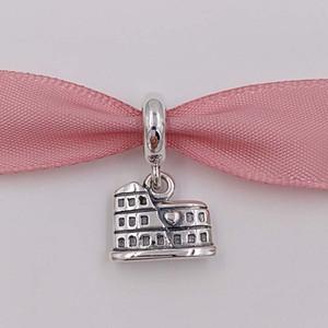 Colar pulseiras autêntica 925 Encantos Sterling Silver Beads Coliseu Dangle Fit Estilo Europeu Pandora ALE Jóias