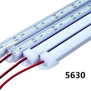 LED Bar luzes DC12V 5730 Tubo de LED LED Strip 50 centímetros rígido com U de alumínio Shell + PC Tampa