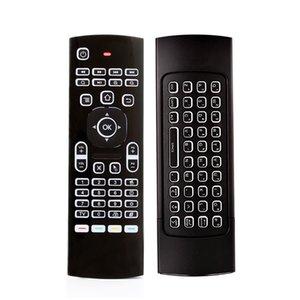 X8 백라이트 미니 키보드는 2.4GHz 무선 키보드 원격 제어 IR 학습 6 축 플라이 에어 마우스 백라이트 Gampad를 들어 안드로이드 TV 박스