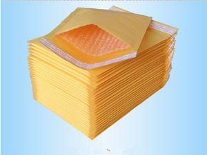 122 * 178mm + 40mm Kraft Sacs À Bulles Mailers Enveloppes Rembourrés Sacs En Papier Emballage Cadeau Emballage CD Partie Fournitures