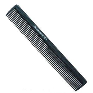 도매 - 블랙 전문 탄소 Barbering 빗 벌금 절단 빗 내열성 깨지지 않는 스타일링 Hair Carbon Comb L4011