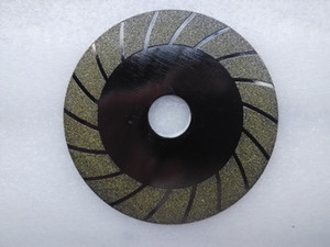 Diamond Cutting Disc Electroplated Saw Blade For Glass Jade Tile Stone 100mm Free Ship