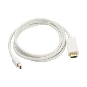 미니 DP를 HDMI 케이블에 연결 Dell 용 Lenovo 컴퓨터 용 MacBook Mini DisplayPort - HDMI HDTV 케이블을 금색 도금 함 Microsoft Surface