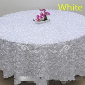 Blush Pink 3D Rose Flowers Table Cloth for Wedding Party Decorations Cake Tablecloth Round Rectangle Table Decor Runner Skirts Carpet Cheap