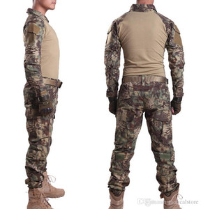 MANDRAKE Rattlesnake Gen 3 Tactical Batalha Ternos Apertados uniforme de camuflagem Sapo Roupas de Combate Airsoft T-Shirt Calças Jaqueta Conjuntos