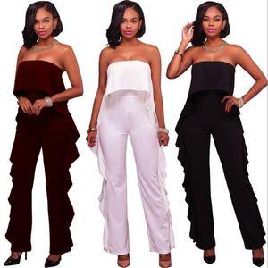 Hot Women's Rompers Jumpsuits for women Sexy women Lace Elegant Off Shouder Bodysuit Outfits Long Pants