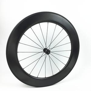 자전거 wheelsets 700c 탄소 딤플 표면 바퀴 80mm clincher 바퀴 사이클링 탄소 바퀴 중국 탄소 wheelsets