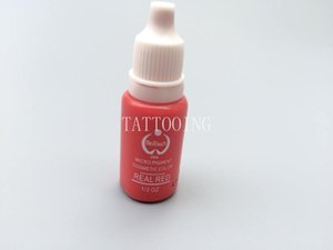 5 colors Permanent Makeup Micro pigments Tattoo Ink Cosmetic Kit For Tattoo Eyebrow Lip DARK RED