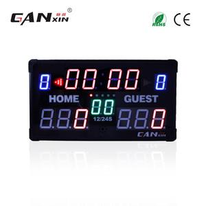 [GANXIN] led Basketbol / Futbol Skorbord Çok Spor Kapalı Kablosuz Uzaktan Çok Fonksiyonlu Ultra morden Elektronik Ekran