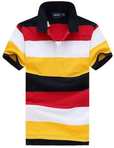 Moda Mens Casual T camisa ralph 100% Algodão polo Camisetas de Manga Curta de Verão Lazer Esportes Camisas Primavera Outono Sólida T-shirt # 9954