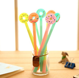Candy Color Donuts Pen Needle Neutral Pens Black Pens Learning Gifts For Students Korean Stationery