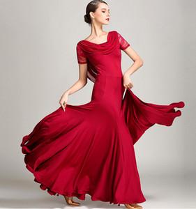 2018 년 볼룸 댄스 드레스 볼룸 왈츠 드레스 볼룸 댄스 용 옷 왈츠 폭스 트롯 플라멩코 모던 댄스 의상