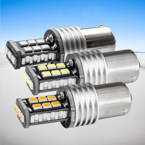 2 pcs haute qualité 1156 P21W 7506 BA15S LED auto frein lampe voiture feux de recul Ampoule de direction blanc rouge ambre jaune
