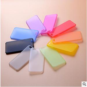 Ucuz 0.3mm Ultra Ince Ince Mat Buzlu Telefon Kılıfı Tam Kapsamlı Esnek PP Kapak iphone 12 Mini 11 Pro x XS Max XR 8 7 Artı SE