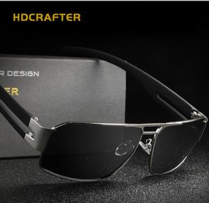 HDCRAFTER бренд открытый мода солнцезащитные очки зеркало водитель E006 мужчины поляризованных солнцезащитных очков мужчины солнцезащитные очки с очки коробка