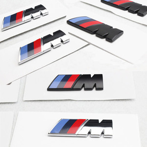 Car styling Motorsport M Performance Car Side Body Sticker Emblem per BMW E36 E39 E46 E90 E60 E30 F10 F30 E87 E53 X5 F20 E92