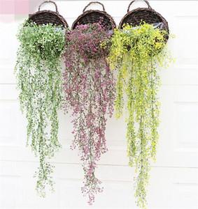 """Support Faux plante Osier rotins 75cm / 29.53"""" Longueur plastique Wicke vigne Bracketplant pour mariage Fleurs artificielles décoratives"""