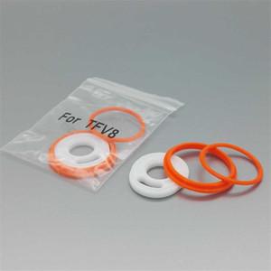 Silicone O Ring TFV8 Silicon Replacement Seal Oring Rebuild kit Rubber Set para smok Smoktech TFV8 Sub Ohm Tank atomizadores con embalaje al por menor