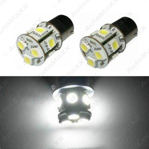 Белый 12 в 1156 BA15S P21W автомобилей светодиодные 13SMD 5050 тормозной хвост сигнала поворота лампы лампы #3069