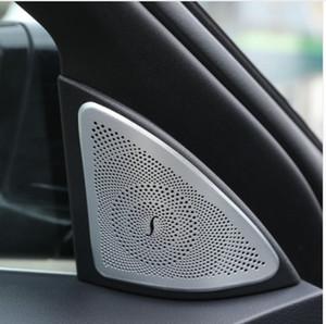 메르세데스 벤츠 S 클래스 W222 S320l 400 500 2014-2017 자동차 스타일링 알루미늄 오디오 스피커 커버 Tweeters 트림 스티커 2pcs / set