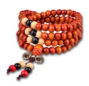 Горячая распродажа женщины мужчины 6mmSandalwood буддийский Будда медитация 108 бусины браслет для женщины мужчины ювелирные изделия молитва бусины мала браслет