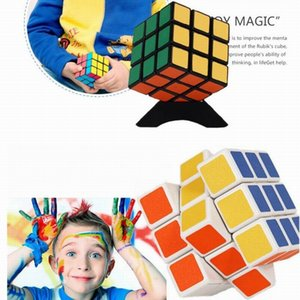 MOQ 320pcs روبيكس كيوب روبيكس كيوب ماجيك كيوب روبيك سكوير مايند لغز لعبة للأطفال (اللون: متعدد الألوان) 5.7x5.7x5.7