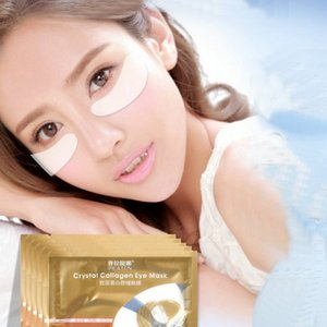 retail PILATEN Crystal Collagen Eye Mask hot sale Anti-puffiness Dark circle Anti wrinkle moisture For Eyes Care Free shipping