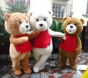 Горячая продажа Теди костюм взрослый мех плюшевый медведь костюм талисмана bvgni8
