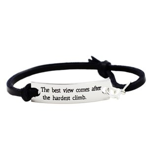 Eosmer Students Encouraging Quote Saying Words Message Motivatioanl Bracelet Novelty Gifts For Students Girls Children Boys The Best View Co