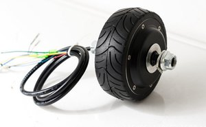 4inches BLDC hub motor with tyre hall sensor and EABS function enable for electric scooter bike motorycle front or rear driven