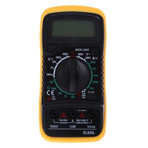 Yüksek Kalite Dijital LCD Multimetre Voltmetre Ampermetre AC DC OHM Volt Test Cihazı Test Akımı