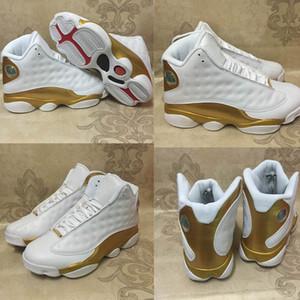 Barato 13 zapatillas de baloncesto para hombre de Chicago 13 zapatillas de deporte para hombre zapatillas de deporte holograma barones zapatos de descuento para hombre