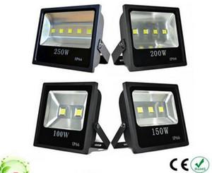 LED Projektör 100 W 150 W 200 W 250 W RGB / Sıcak / Soğuk Beyaz LED Sel Işıkları Açık Su Geçirmez LED Taşkın Aydınlatma LLFA