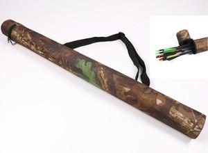 Caça Tiro Com Arco Flecha Quiver Camouflage Wearable Oxford Pano de Peso Leve para 12 pcs Durável Caça Tiro Com Arco Flechas