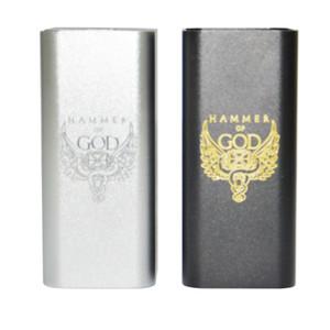 Neueste Hammer Gottes V3 mod fit 4 stücke 18650 Batterie Square Hammer von Gott 2,0 Mod mit Led-anzeige update Hammer von Gott 2,0 Hohe qualität DHL