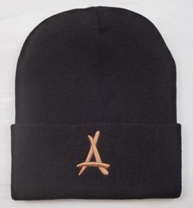 THA Şaplar kış kapaklar bere kafatası deus moda şapka örme kış şapka beyzbol ayarlanabilir kap