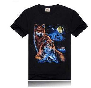 Summer Men Oversize Hi-Street 3D Digital printing Cotton T-shirts Casual Short Sleeve Simple Fashion Tees Loose tops