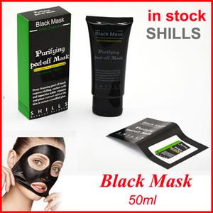 Shills Soyma yüz Maskeleri Derin Temizlik Siyah Maske 50 ML Siyah Nokta Yüz Maskesi vs PILATEN Yüz Mineraller Conk Yüz Maskesi Ücretsiz kargo