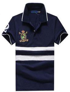 Top qualité à bas prix Hommes Polo Big cheval coton hommes manches courtes Slim Fit polos de tennis Golf Polos occasionnels