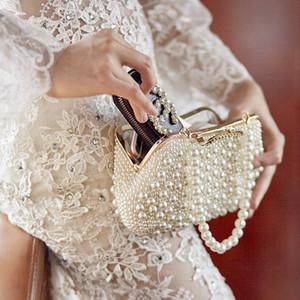 Atemberaubende Braut Handtaschen Perlen Hochzeit Accessoires Braut Handtaschen
