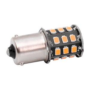 4 pcs Tamanho Pequeno de Alta Potência Âmbar Amarelo 33 LED 2835 SMD BAU15S 7507 PY21W 1156PY Lâmpadas LED Para A Frente Turn Signal Luzes 12 V