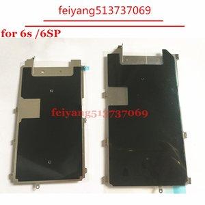 """10 pcs novo para iphone 6 s 4.7 """"6 s plus 5.5"""" com dissipação de calor adesivo placa lcd placa de metal escudo"""
